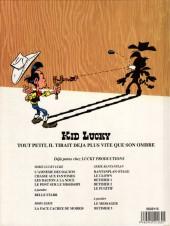 Verso de Kid Lucky - Tome HS 01