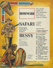 Verso de Safari (Vandersteen) -2- Chasse interdite
