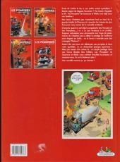 Verso de Les pompiers -4- Potes au feu