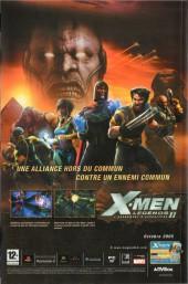 Verso de Marvel Icons (Marvel France - 2005) -7- Evasion (3)