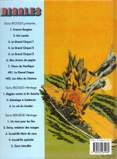 Verso de Biggles présente... -7- Titans du Pacifique