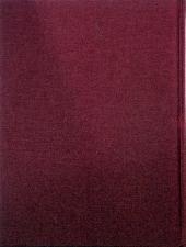Verso de Blake et Mortimer -3TL- Le Secret de l'Espadon - Tome 3