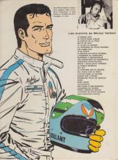 Verso de Michel Vaillant -28a1978'- Le secret de Steve Warson