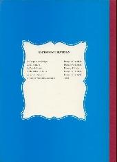 Verso de Chick Bill (Rijperman) -2TL- La Grotte Mystérieuse
