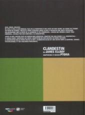 Verso de Clandestin -1- Livre I