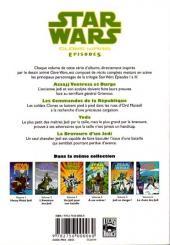 Verso de Star Wars - Clone Wars Episodes -3- Un Jedi pour une bataille