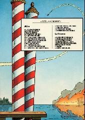 Verso de Lefranc -2b1983- L'ouragan de feu