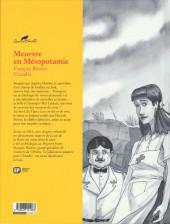 Verso de Agatha Christie (Emmanuel Proust Éditions) -12- Meurtre en Mésopotamie
