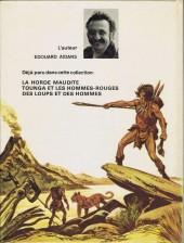 Verso de Tounga (Cartonné) -3'- Des loups et des hommes