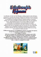 Verso de Il était une fois l'homme -5- De Lascaux à Carnac