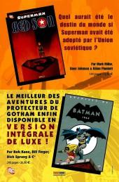 Verso de Batman - Superman -3- Crise d'identité (3)