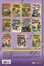 Verso de Avengers (The) (L'intégrale) -1- L'intégrale 1963-1964