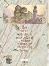 Verso de Borgia (Jodorowsky/Manara) -2- Le pouvoir et l'inceste