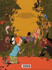 Verso de Laura et Patrick -1- Les jeunes de la Jungle