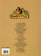 Verso de Papyrus -28- Les enfants d'Isis