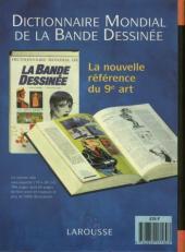 Verso de (DOC) BDM -10- Trésors de la Bande Dessinée 1995-1996