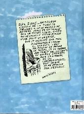 Verso de (AUT) Wolinski -10- Carnets de voyages