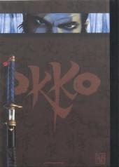 Verso de Okko -TL1- Le cycle de l'eau - I & II