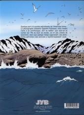 Verso de Quentin Foloiseau (Les aventures de) -2- L'île du bout du monde