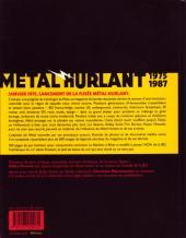 Verso de (DOC) Études et essais divers - Métal Hurlant - 1975-1987 - La Machine à rêver