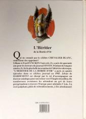 Verso de Le chevalier blanc -11- L'héritier de la horde d'or