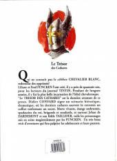 Verso de Le chevalier blanc -10- Le trésor des cathares