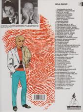 Verso de Ric Hochet -17d1994- Épitaphe pour Ric Hochet