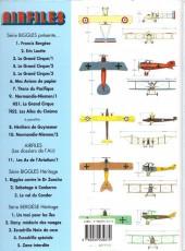 Verso de Airfiles -11- Les as de l'aviation / 1
