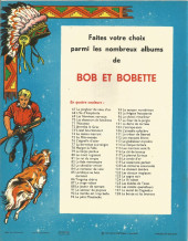 Verso de Bessy -93- Le bison solitaire
