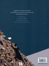 Verso de Le procès (Clod/Céka) - Le procès