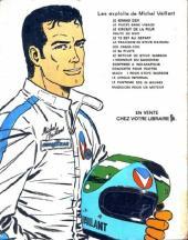 Verso de Michel Vaillant -20Pub- Rodéo sur 2 roues