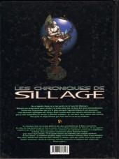 Verso de Sillage (Les chroniques de) -3- Volume 3