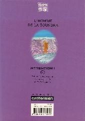 Verso de L'homme de la Toundra
