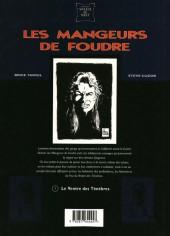 Verso de Les mangeurs de foudre -1- Le Ventre des Ténèbres