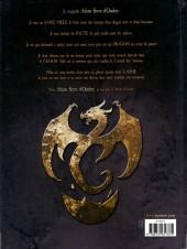 Verso de Dragonseed -1- De cendres et de sang