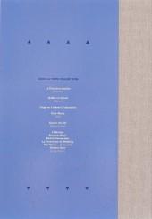 Verso de Largo Winch -IntTL07- Le prix de l'argent