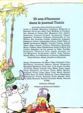 Verso de (DOC) Journal Tintin -2TT- 35 ans du journal Tintin - 35 ans d'humour