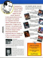 Verso de Michel Vaillant (Dossiers) -8- Fangio l'homme qui fut roi