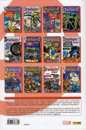Verso de Fantastic Four (L'intégrale) -4- Fantastic Four : L'intégrale 1965