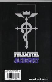 Verso de FullMetal Alchemist -5- Tome 5
