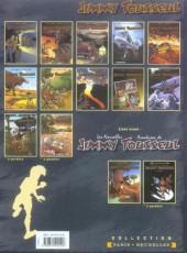 Verso de Jimmy Tousseul -10a- La vengeance du singe
