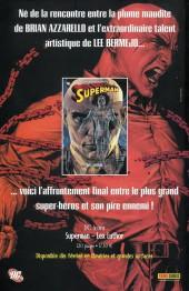 Verso de Batman - Superman -4- Crise d'identité (4)