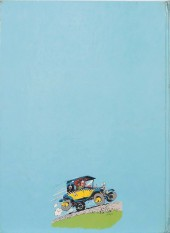 Verso de Gaston (Hors-série) -Pub- La Fantastica Fiat 509 di Gaston Lagaffe