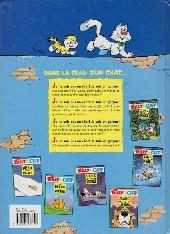 Verso de Billy the Cat -3SL- L'Été du secret