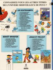 Verso de Les schtroumpfs - Schtroumpferies -2- Schtroumpferies - 2