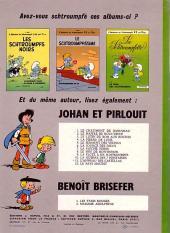 Verso de Les schtroumpfs -4- L'œuf et les Schtroumpfs