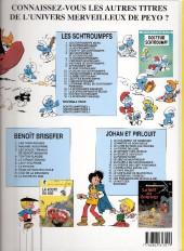 Verso de Les schtroumpfs -19- Le schtroumpf sauvage