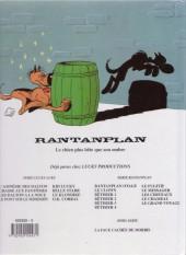 Verso de Rantanplan -13- Le grand voyage