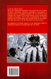 Verso de La guerre des mondes (D'Israeli) - La guerre des Mondes