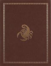 Verso de Le scorpion -6TT- Le trésor du Temple